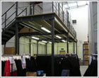 mezzanine floors ireland - raised floor storage